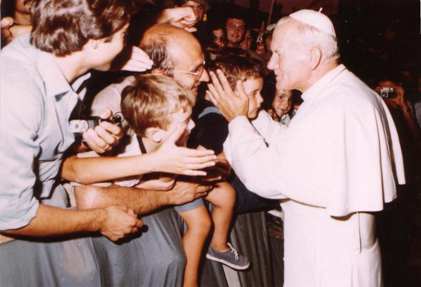 El Papa me beso en la frente Blog Se Llenaron de Inmensa Alegria